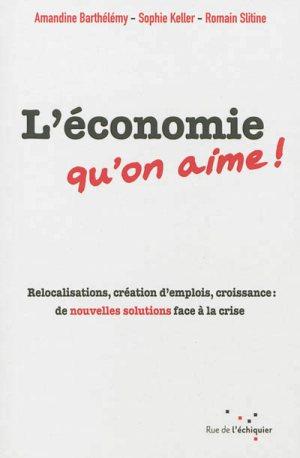 L'économie qu'on aime !