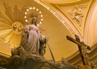 Qu'a voulu dire l��glise en déclarant que Marie a été conçue sans péché ?