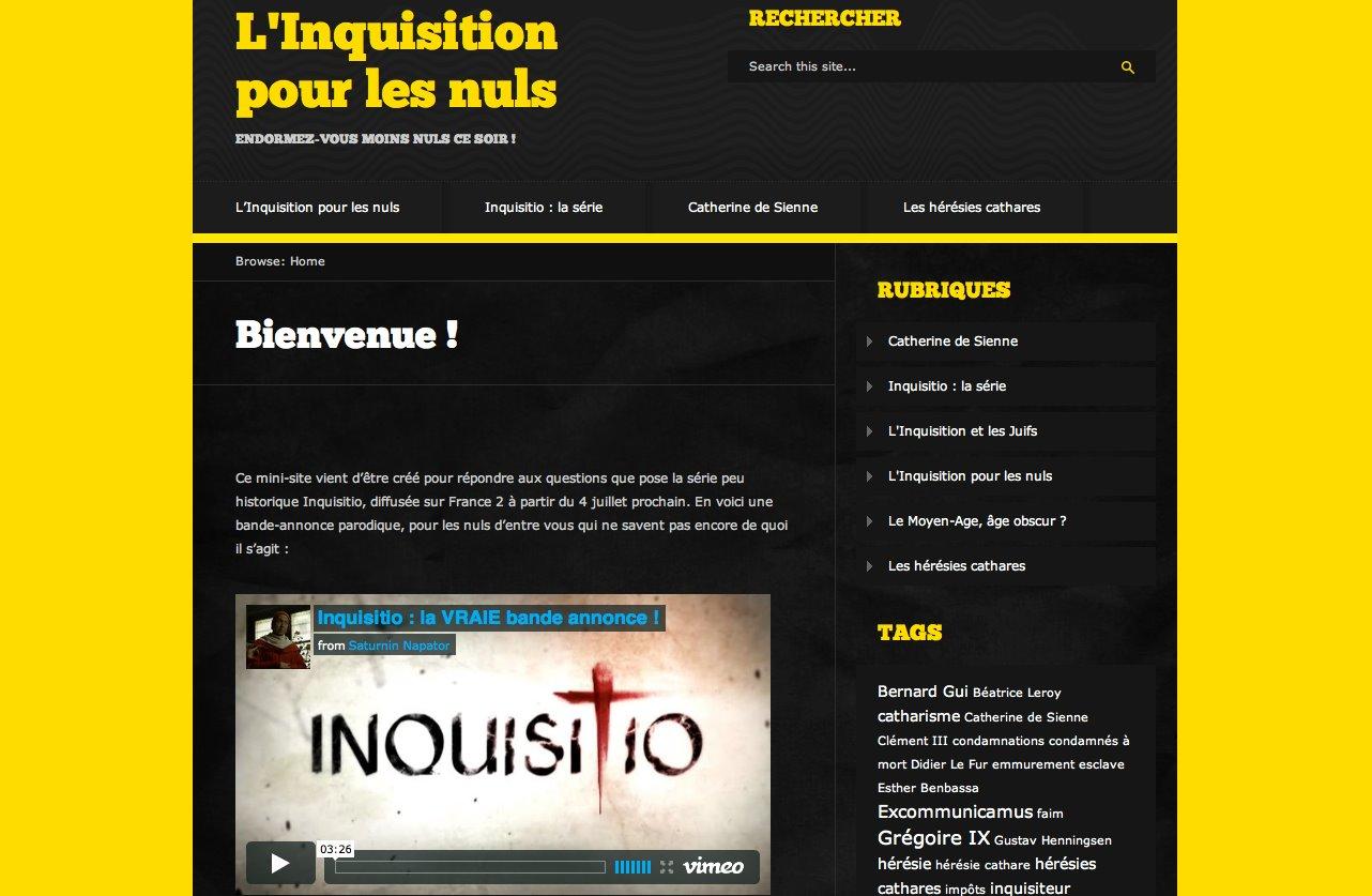 L'Inquisition pour les nuls