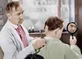 Dieu et le coiffeur