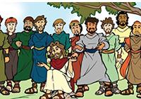 Dossier : Apôtres et disciples aux côtés de Jésus