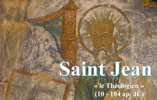 Saint Jean l'évangéliste, apôtre et théologien