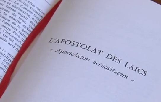 Vatican II aujourd'hui : l'apostolat des laïcs