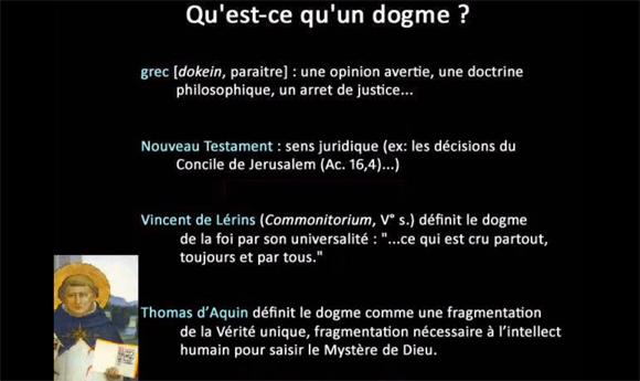 Qu'est ce qu'un dogme ?