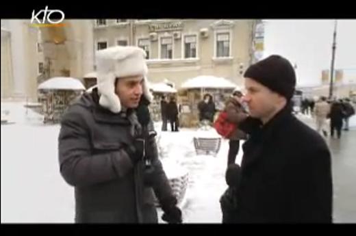 � la rencontre de l'�glise russe