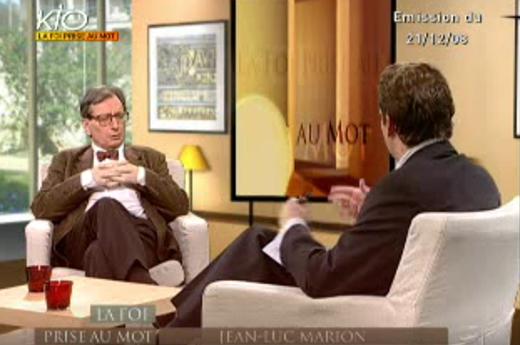 Entretien avec Jean-Luc Marion