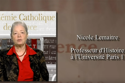 Académie catholique de France : Nicole Lemaître