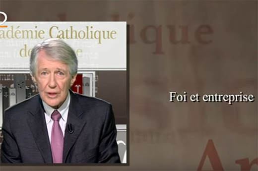 Académie catholique de France : Michel Bon