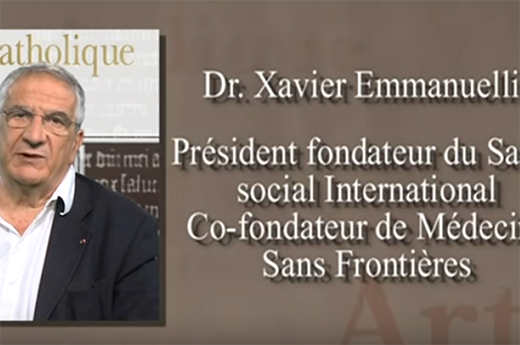 Académie catholique de France : Xavier Emmanuelli