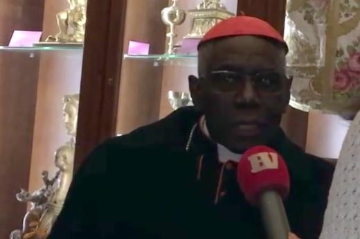 Cardinal Sarah : J'ai peur que l'Occident ne meure