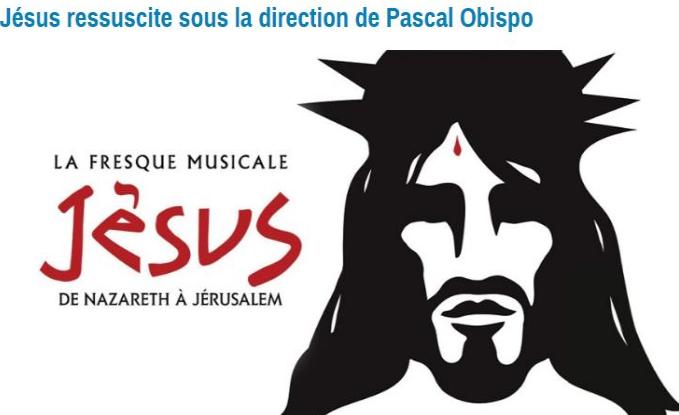 Jésus le 17 octobre 2017 au Palais des Sport, pour commencer